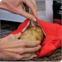 کیسه مخصوص پخت سریع سیب زمینی Potato express bag