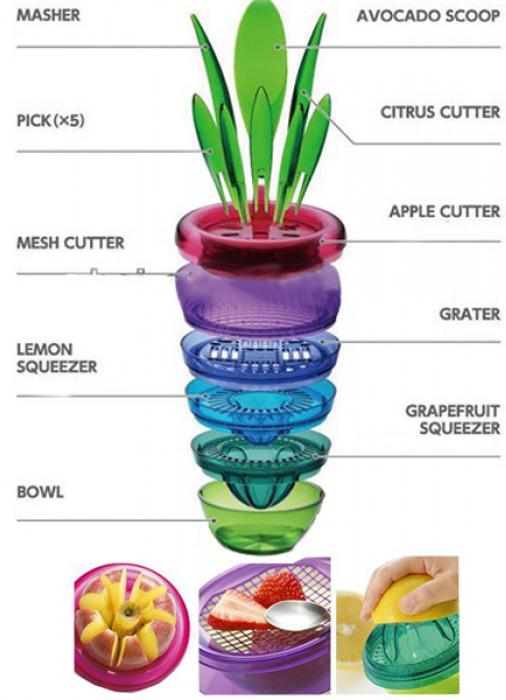 گلدان همه کاره آشپزخانه Fruits Plant
