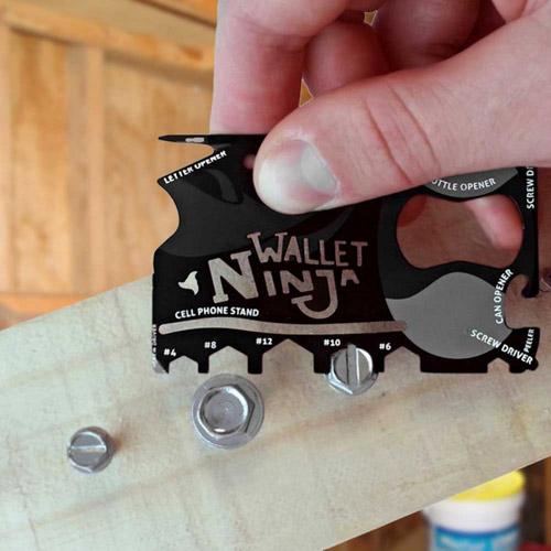 آچار کارتی کوچک و حرفه ای نینجا والت Ninja Wallet