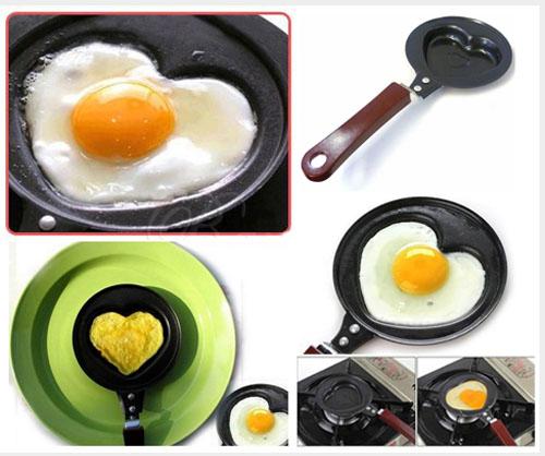 ماهی تابه تفلون طرح دار قالبی mini egg pan