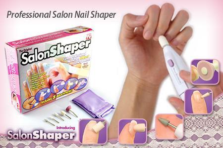 دستگاه مانیکور پدیکور ناخن سالن شیپر اصل salon shaper